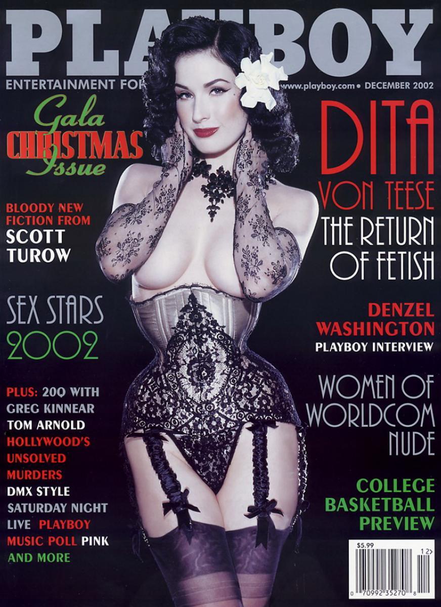 Dita von teese magazine
